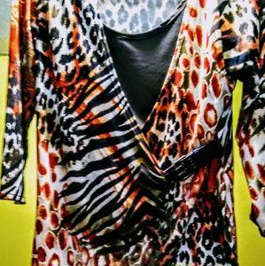 Women's size: medium long sleeve blouse